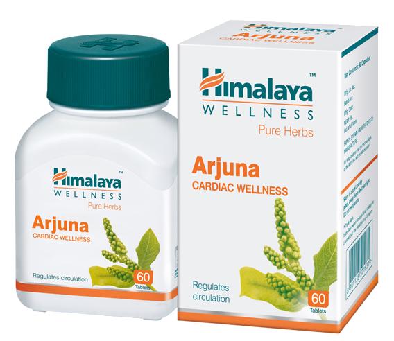 Аюрведическое средство для сердца Арджуна Himalaya Arjuna