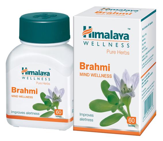 Аюрведическое средство для улучшения памяти Брахми Himalaya Brahmi