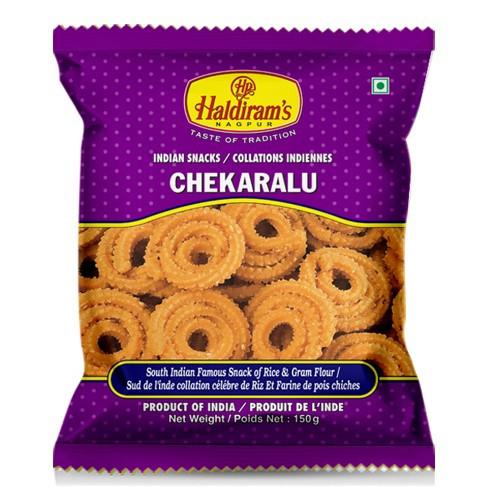 Хрустящие спирали Чекаралу (Chekaralu Haldirams)