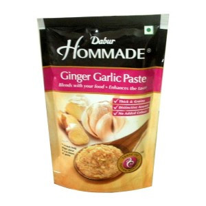 Чесночно-имбирная паста (Ginger Garlic Paste)