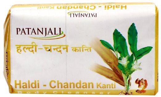 Мыло с сандалом и куркумой Patanjali Haldi Chandan