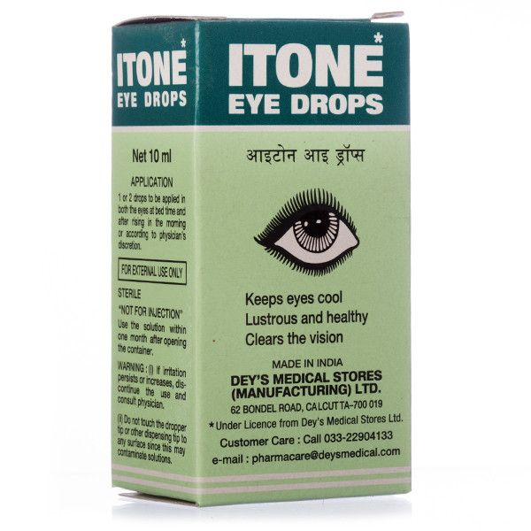 Глазные капли ITONE eye drops