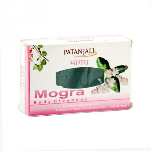 Мыло с ароматом жасмина Patanjali Mogra