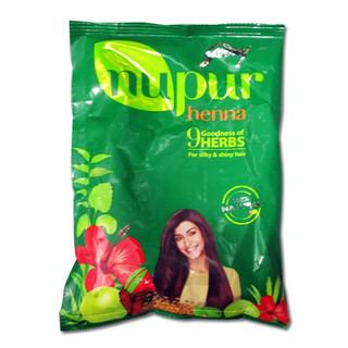 Лечебная хна для волос Нупур 9 трав Nupur Mehandi 9 Herbs