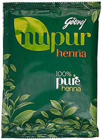 Хна для волос Нупур 100% Pure Henna Nupur