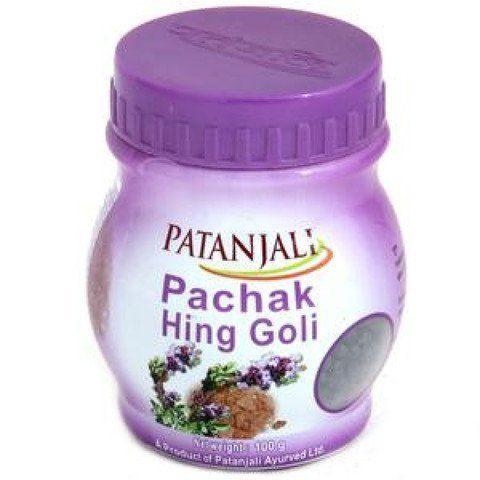 Средство для улучшения пищеварения Pachak Hing Goli Patanjali
