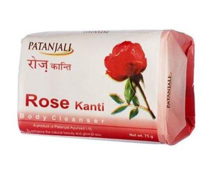 Мыло c розой Patanjali Rose