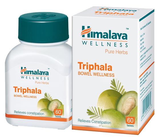 Аюрведическое средство для улучшения пищеварения Трипхала Himalaya Triphala