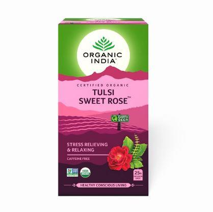 Чай Тулси Сладкая Роза (Tulsi Sweet Rose Tea)