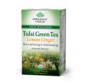 Чай Тулси Зеленый Имбирно-Лимонный (Tulsi Lemon Ginger Green Tea)