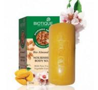 Мыло питательное с миндальным маслом Bio Almond Oil Body Soap Biotique