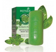 Мыло с базиликом и петрушкой Bio Basil & Parsley Body Soap Biotique