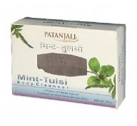 Мыло с мятой и базиликом Patanjali  Mint-Tilsi