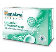 Мыло Освежающее с экстрактом огурца Himalaya