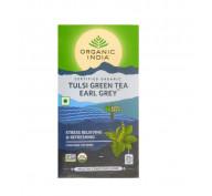 Чай зеленый с Тулси и бергамотом (Tulsi Green Tea Earl Grey)
