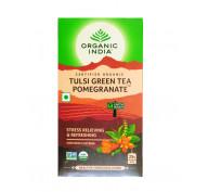 Чай Тулси Зеленый с Гранатом (Tulsi Pomegranate Green Tea)