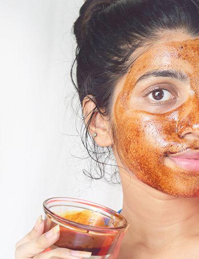 Индийские маски для лица