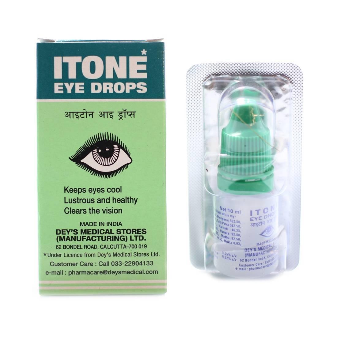 Глазный капли itone