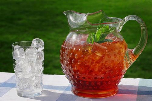 Тулси чай со льдом