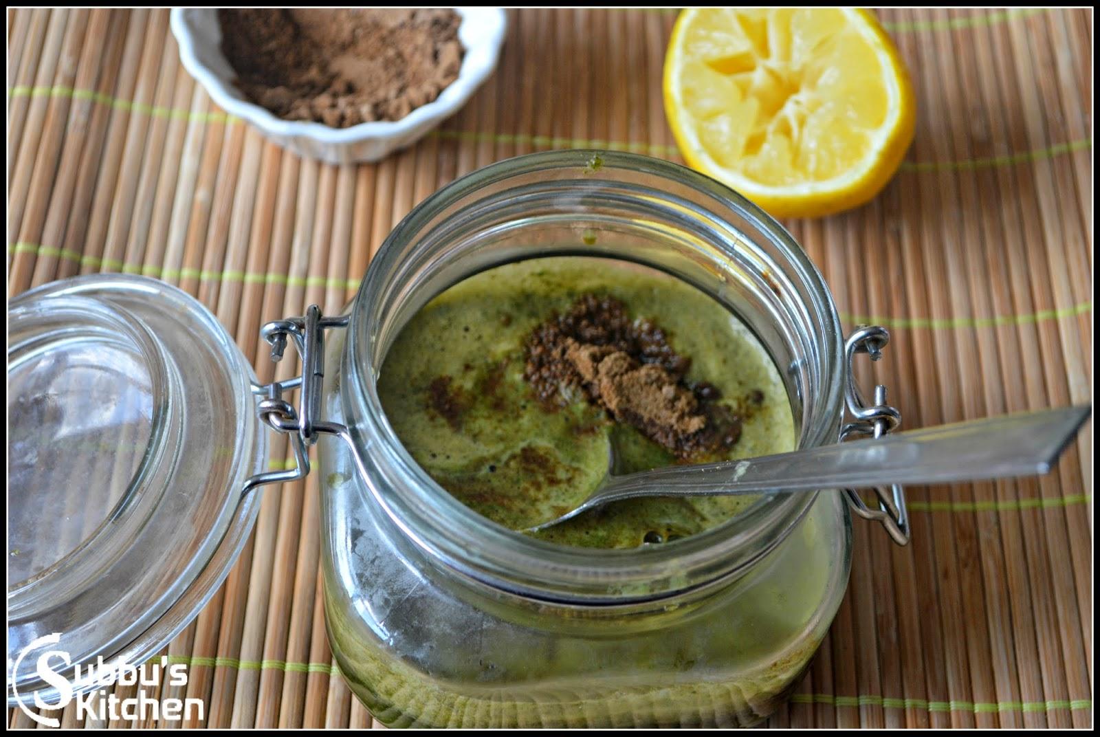 Приготовления напитка Джал-джира