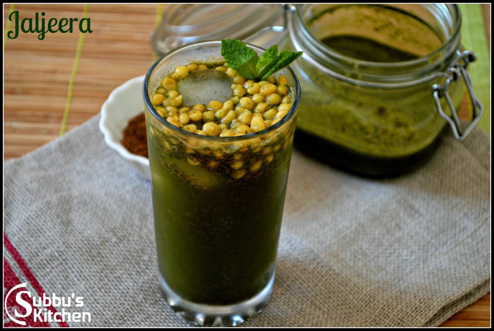 Индийский напиток Джал-Джира