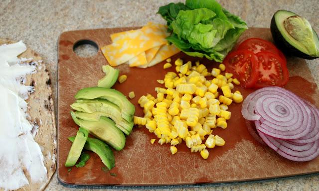 Овощи для приготовления ролла