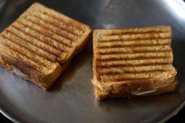 Рецепт приготовления масала-сэндвичей
